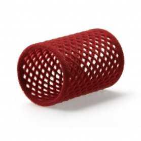 Velourspole röd 40mm, 12st