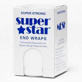 Super Star toppapper vita perforerade